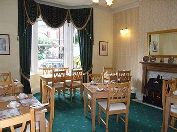 Breakfast room at Chelmsford Place Guest House, York
