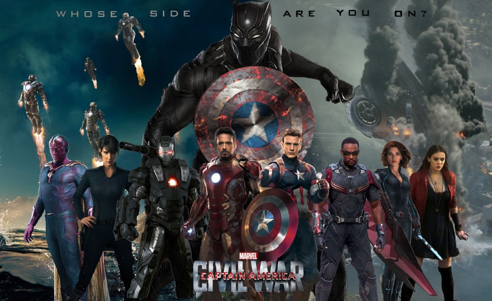 Black Panther on Captain America: Civil War