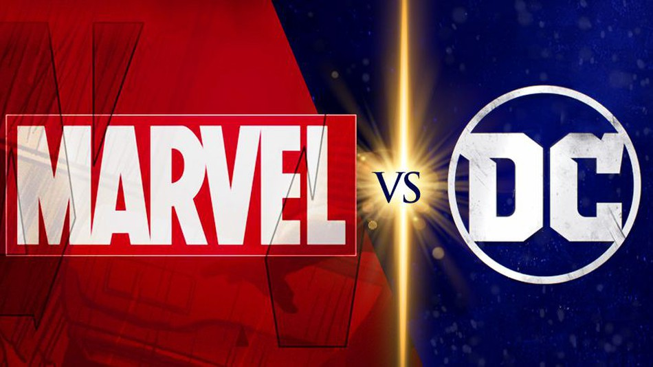 "The ""battle"" between Marvel and DC."